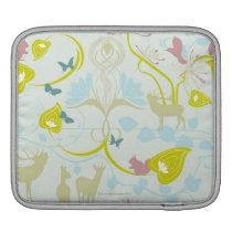 Flowers and Animals Sleeve For iPads