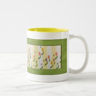 Flowers and Bees Mug