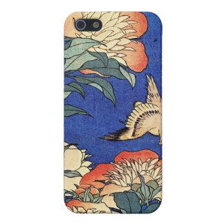 Flowers and Bird, Hokusai iPhone SE/5/5s Case