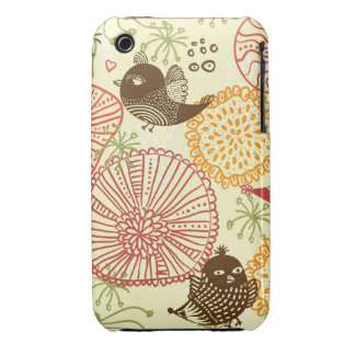 Flowers and birds iPhone 3 covers