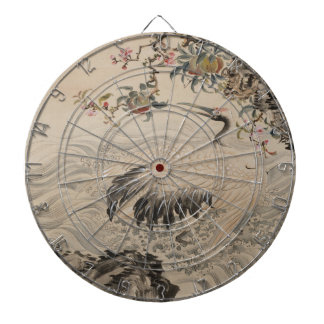 Flowers and Birds - Japanese (Edo Period) Dart Board