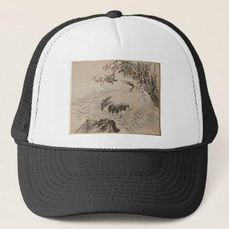 Flowers and Birds - Japanese (Edo Period) Trucker Hat