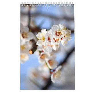 Flowers and Blossoms Calendar