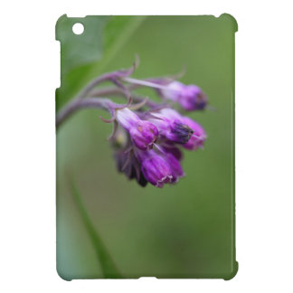 Flowers and blossoms of common comfrey iPad mini cover