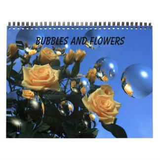 Flowers and Bubbles Calendar
