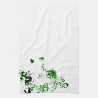 Flowers and Butterflies American MoJo Kitchen Towe Hand Towel