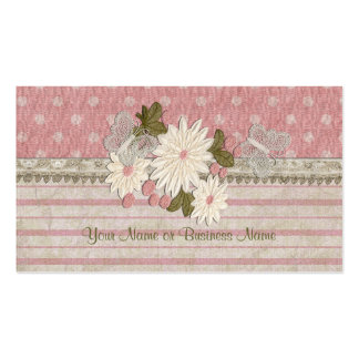 Flowers and Butterflies Business Cards