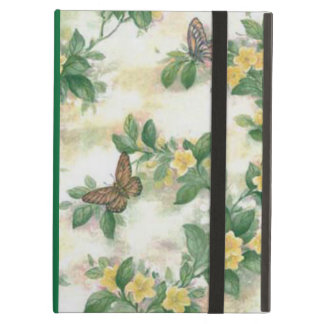 Flowers And Butterflies iPad Case