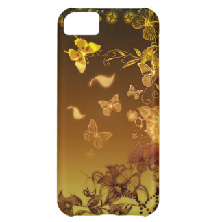 Flowers and Butterflies iPhone 5C Cover