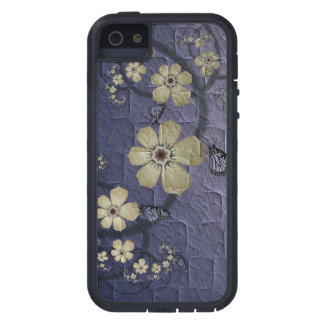 Flowers and Butterflies iPhone SE/5/5s Case