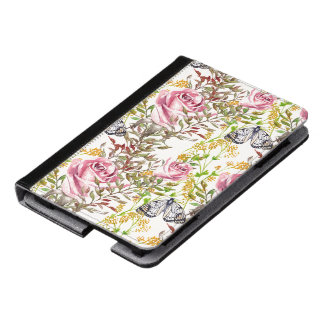 Flowers And Butterflies Kindle Case