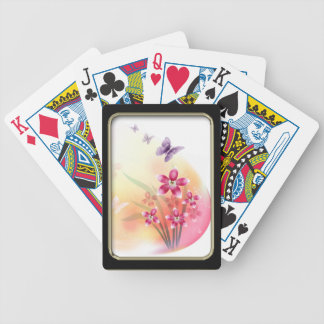 Flowers and Butterflies Playing Cards