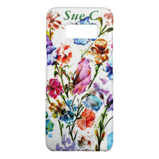 FLOWERS AND BUTTERFLIES   SAMSUNG 8 PHONE CASE
