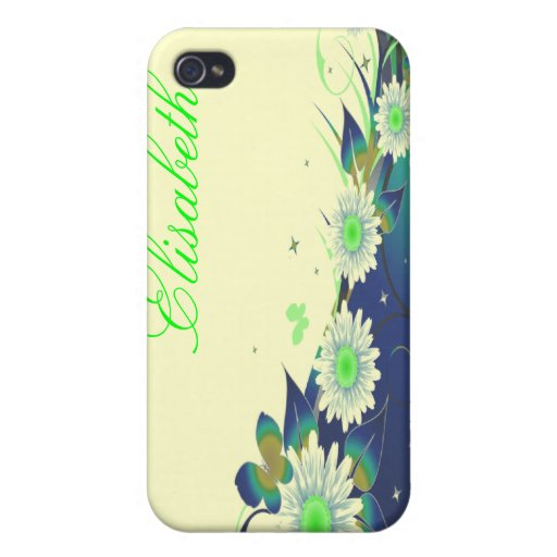 Flowers and Butterflies Speck Case iPhone 4/4S Cases