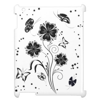 Flowers and Butterfly iPad Case