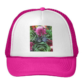 Flowers and Cabbages Trucker Hat