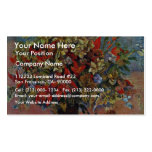 Flowers And Cats By Gauguin Paul (Best Quality) Double-Sided Standard Business Cards (Pack Of 100)