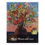 Flowers And Cats By Gauguin Paul (Best Quality) Flyer Design