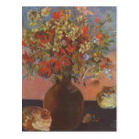 Flowers and cats - Paul Gauguin Postcard