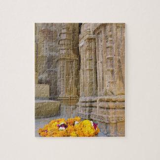 Flowers and columns, Jaisalmer Fort, Jaisalmer, Puzzle