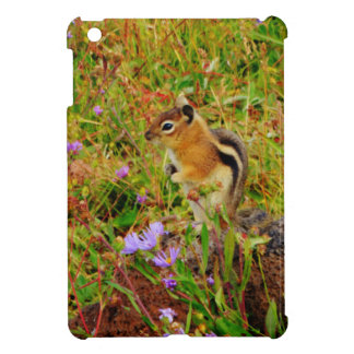 Flowers and cute little Chipmunk Case For The iPad Mini