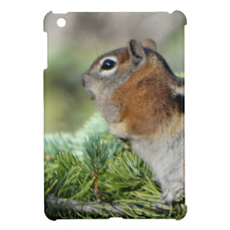 Flowers and cute little Chipmunk Cover For The iPad Mini