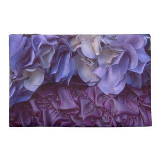 Flowers and Fabric Travel Accessories Bags