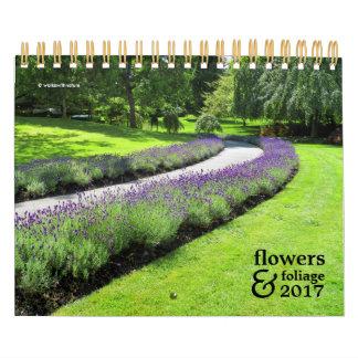 Flowers and Foliage 2017 Calendar