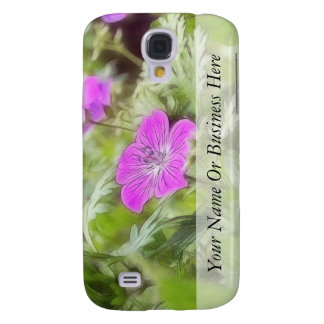 Flowers And Foliage - Hardy Geranium Galaxy S4 Case