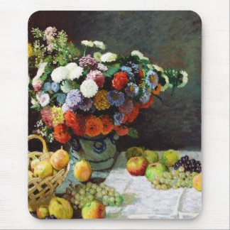 Flowers and Fruit, 1869  Claude Monet Mouse Pad
