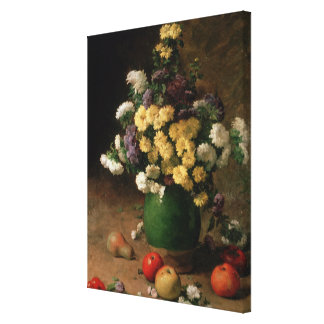 Flowers and Fruit, 1880 Canvas Print