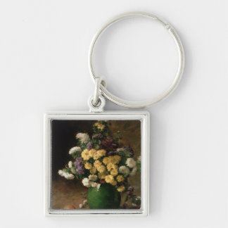 Flowers and Fruit, 1880 Keychain
