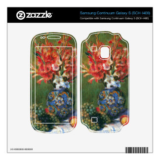 Flowers and Fruit by Pierre Renoir Samsung Continuum Decals