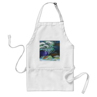 Flowers and Fruit Design Adult Apron