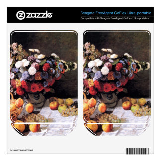 Flowers and Fruits by Claude Monet FreeAgent GoFlex Decals