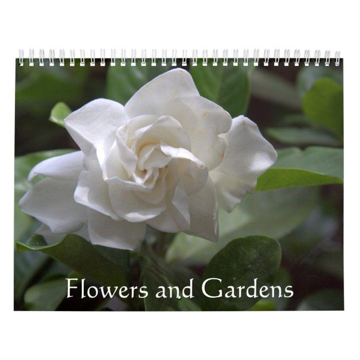 Flowers and Gardens Calendar