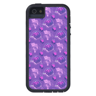 Flowers and Grapes Turtle Pattern iPhone SE/5/5s Case