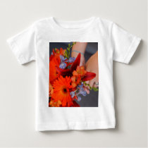 Flowers and hans baby T-Shirt