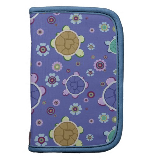 Flowers and Hearts Turtle Pattern Organizers