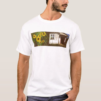 Flowers and House T-Shirt
