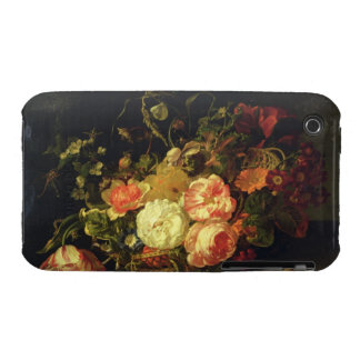 Flowers and Insects, 1711 (oil on panel) iPhone 3 Covers