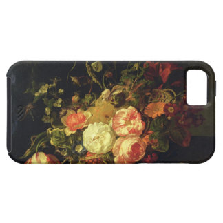Flowers and Insects, 1711 (oil on panel) iPhone SE/5/5s Case
