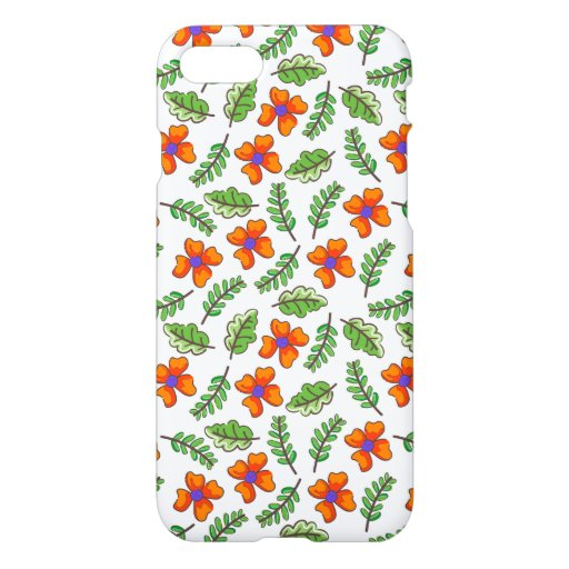 Flowers and Leafs iPhone 8/7 Case