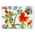 Flowers and Leaves of Florida Stationery Note Card