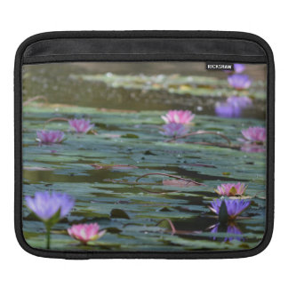 Flowers and Lilypads mf Sleeve For iPads