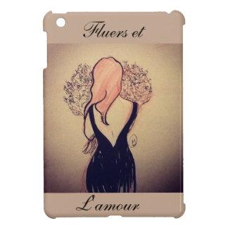 Flowers and love. iPad mini cover