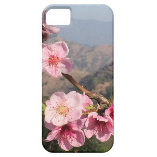 Flowers and mountain view background from India iPhone SE/5/5s Case