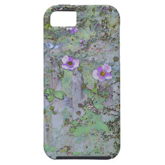 Flowers and Old Fence iPhone SE/5/5s Case