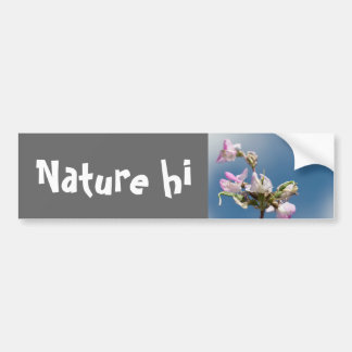 flowers and promises car bumper sticker