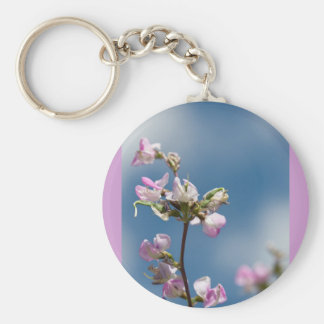 flowers and promises keychain